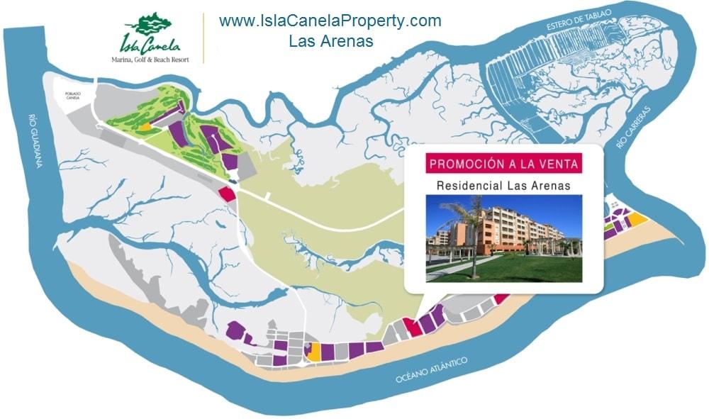 Las Arenas map -1000-min