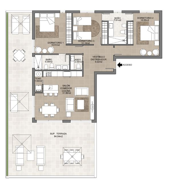 3 bed-apartment-isla-canela